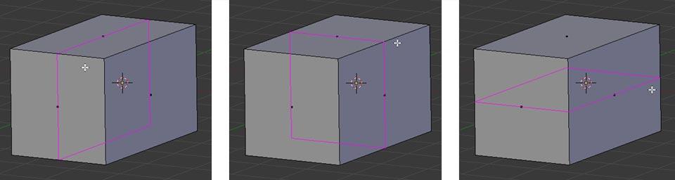 Der Loop Cut - Schritt 1