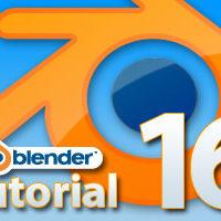 Blender Tutorial Teil 16: Mehr Übersicht durch Ebenen und Ausblenden von Objekten
