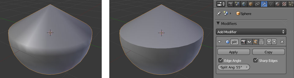 Edge Split Modifier: Edge Angle