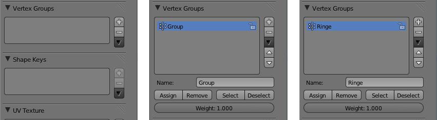 Eine Vertex Group umbenennen