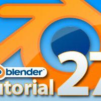 Blender Tutorial Teil 27:  Der Edge Split Modifier und der Decimate Modifier