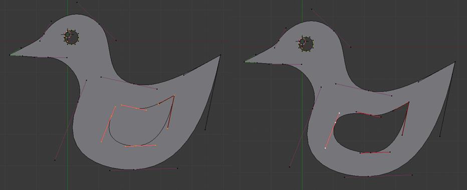 Den Flügel erstellen