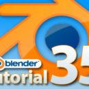 Blender Tutorial Teil 35: Einen Bilderrahmen mit Curves und Beveling erstellen