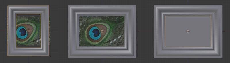 Ein Hintergrundbild laden, den Rahmen anpassen und eine Plane als Leinwand hinzufügen